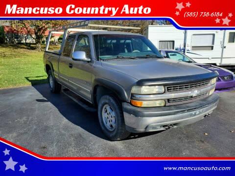 1999 Chevrolet Silverado 1500 for sale at Mancuso Country Auto in Batavia NY