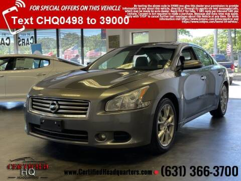 2014 Nissan Maxima for sale at CERTIFIED HEADQUARTERS in Saint James NY