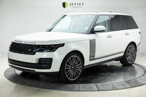 2019 Land Rover Range Rover for sale at Jetset Automotive in Cedar Rapids IA