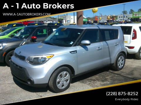 2015 Kia Soul for sale at A - 1 Auto Brokers in Ocean Springs MS