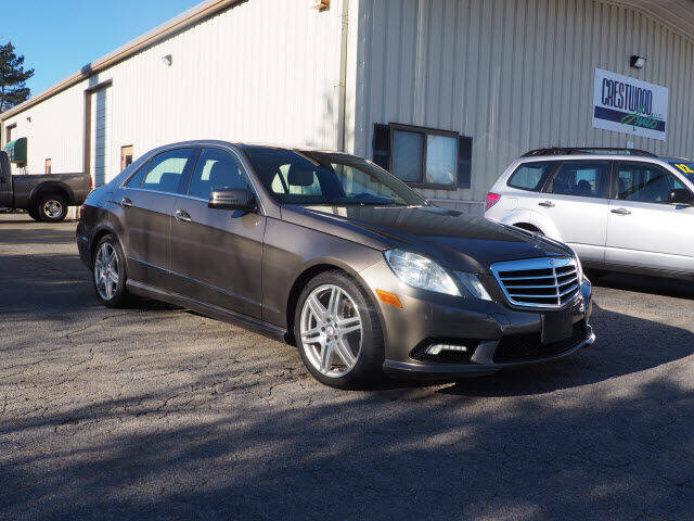 2011 Mercedes-Benz E-Class for sale at Crestwood Auto Sales in Swansea MA