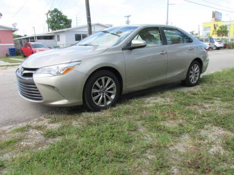 2017 Toyota Camry for sale at TROPICAL MOTOR CARS INC in Miami FL
