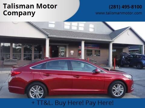 2016 Hyundai Sonata for sale at Don Jacobson Automobiles in Houston TX