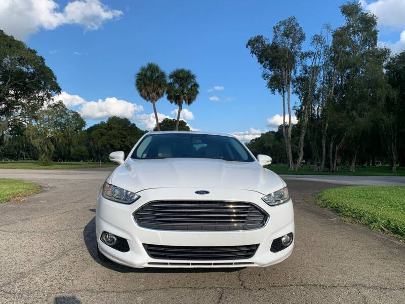 2016 Ford Fusion for sale at FLORIDA MIDO MOTORS INC in Tampa FL