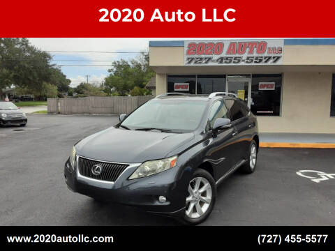 2010 Lexus RX 350 for sale at 2020 AUTO LLC in Clearwater FL