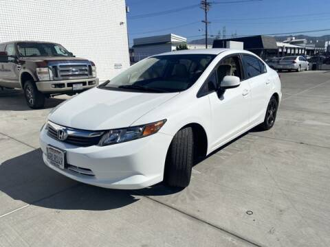 2012 Honda Civic for sale at Hunter's Auto Inc in North Hollywood CA