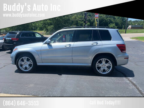 2013 Mercedes-Benz GLK for sale at Buddy's Auto Inc in Pendleton, SC