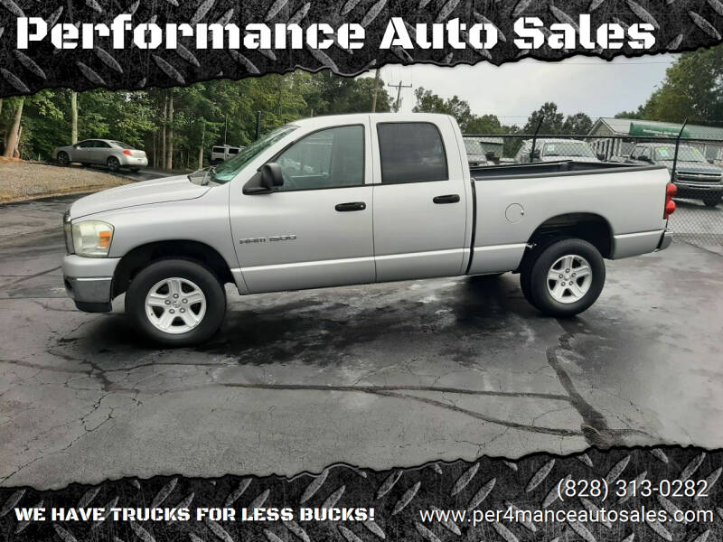 2007 Dodge Ram Pickup 1500 for sale at Performance Auto Sales in Hickory NC