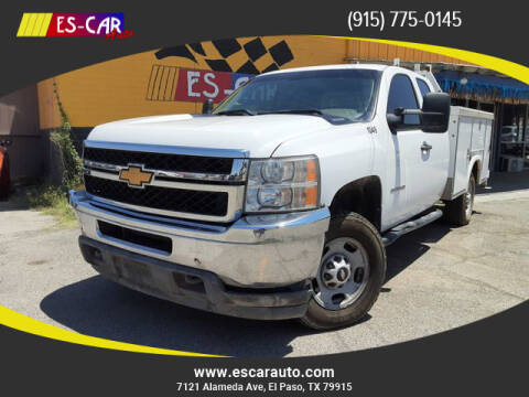2013 Chevrolet Silverado 2500HD for sale at Escar Auto in El Paso TX