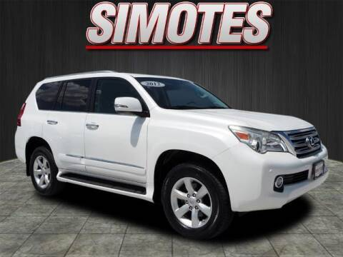 2012 Lexus GX 460 for sale at SIMOTES MOTORS in Minooka IL