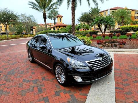 2014 Hyundai Equus for sale at DRIVELUX in Port Charlotte FL