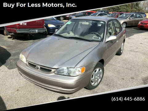 1999 Toyota Corolla for sale at Buy For Less Motors, Inc. in Columbus OH