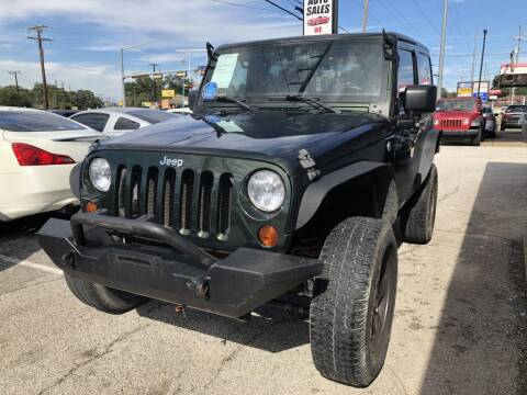 2011 Jeep Wrangler for sale at Pary's Auto Sales in Garland TX