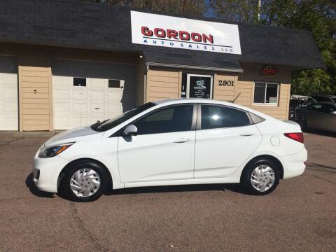 2015 Hyundai Accent for sale at Gordon Auto Sales LLC in Sioux City IA