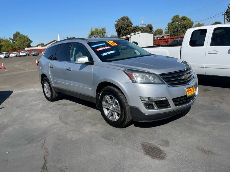 2015 Chevrolet Traverse for sale at Mega Motors Inc. in Stockton CA