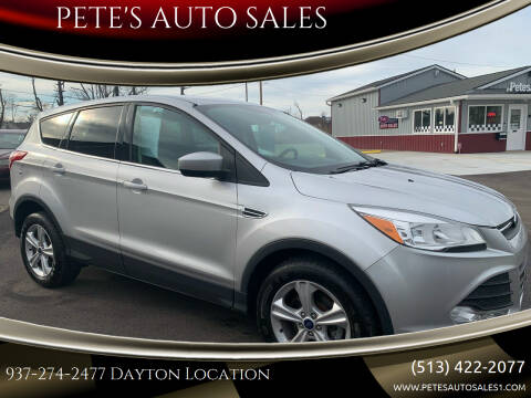 2013 Ford Escape for sale at PETE'S AUTO SALES - Dayton in Dayton OH