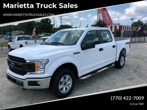 2018 Ford F-150 for sale at Marietta Truck Sales in Marietta GA