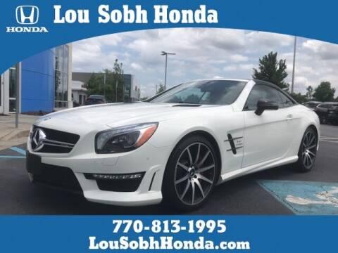 2015 Mercedes-Benz SL-Class for sale at Lou Sobh Honda in Cumming GA