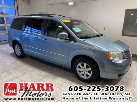 2010 Chrysler Town and Country for sale at Harr's Redfield Ford in Redfield SD