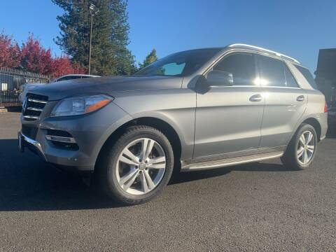 2013 Mercedes-Benz M-Class for sale at South Commercial Auto Sales in Salem OR
