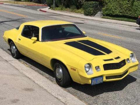 1978 Chevrolet Camaro for sale at CAR CITY SALES in La Crescenta CA