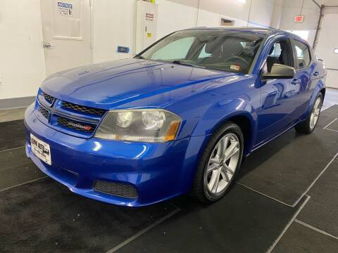 2014 Dodge Avenger for sale at TOWNE AUTO BROKERS in Virginia Beach VA