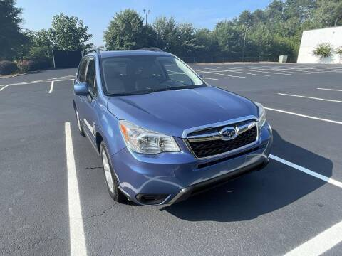 2015 Subaru Forester for sale at CU Carfinders in Norcross GA