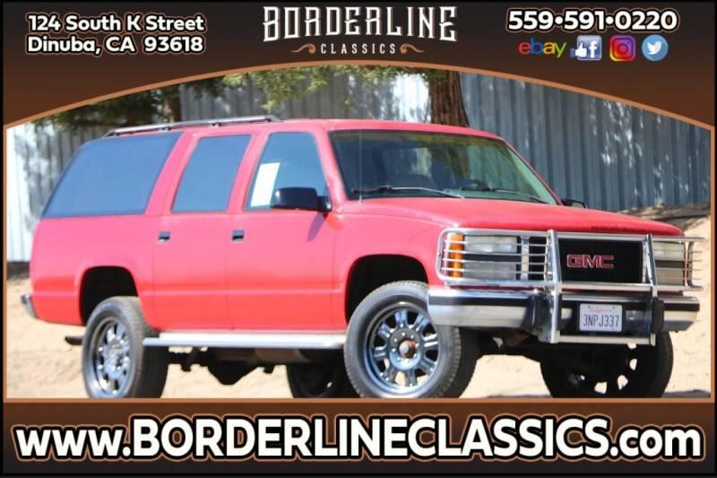 1993 GMC Suburban for sale at Borderline Classics in Dinuba CA