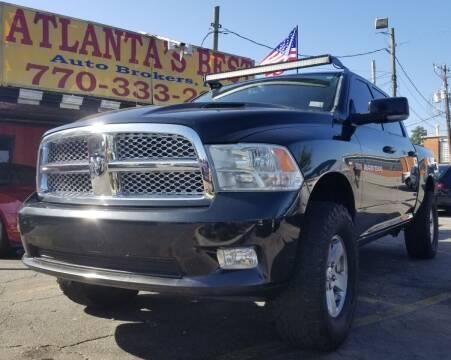 2011 RAM Ram Pickup 1500 for sale at Atlanta's Best Auto Brokers in Marietta GA