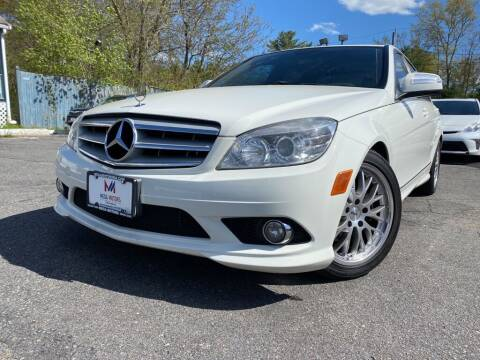 2009 Mercedes-Benz C-Class for sale at Mega Motors in West Bridgewater MA