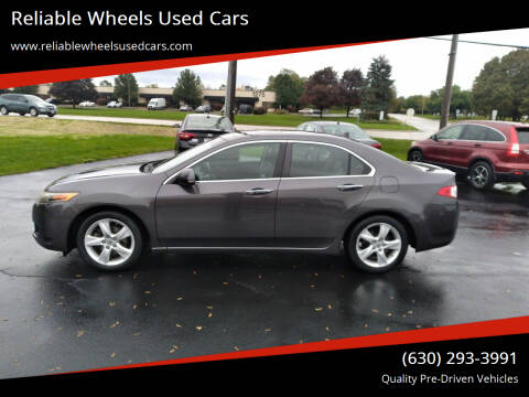 2010 Acura TSX for sale at Reliable Wheels Used Cars in West Chicago IL