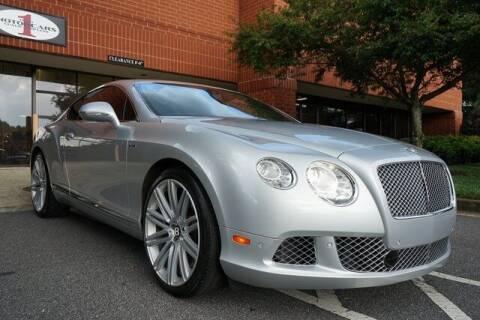 2014 Bentley Continental for sale at Team One Motorcars, LLC in Marietta GA