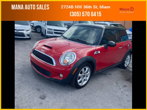 2007 MINI Cooper for sale at MANA AUTO SALES in Miami FL