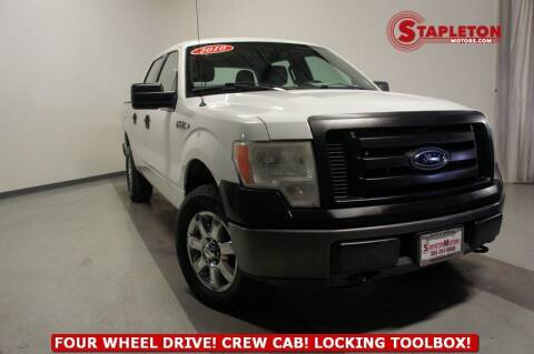 2010 Ford F-150 for sale at STAPLETON MOTORS in Commerce City CO