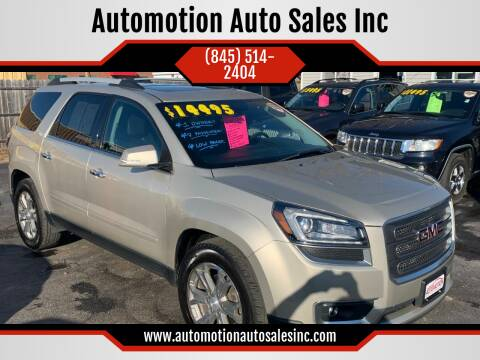 2015 GMC Acadia for sale at Automotion Auto Sales Inc in Kingston NY