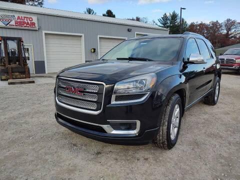 2014 GMC Acadia for sale at Hilltop Auto in Clare MI