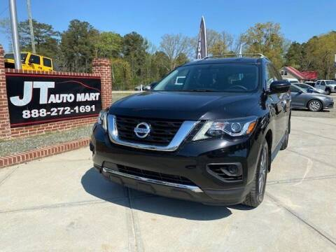 2018 Nissan Pathfinder for sale at J T Auto Group in Sanford NC