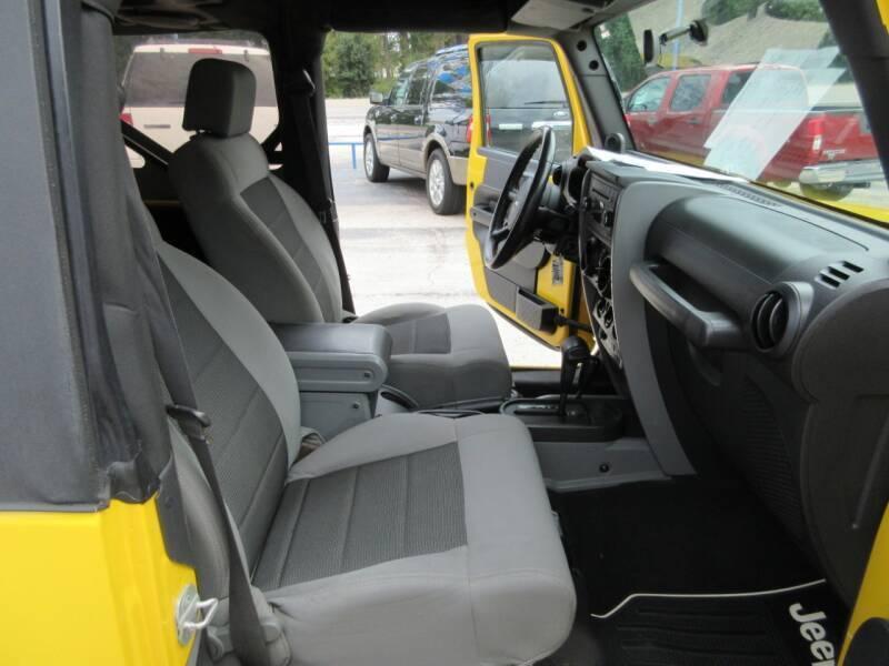 2008 Jeep Wrangler 4x4 X 2dr SUV - Tyler TX