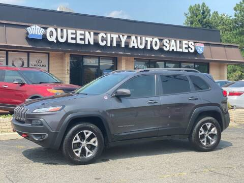 2014 Jeep Cherokee for sale at Queen City Auto Sales in Charlotte NC