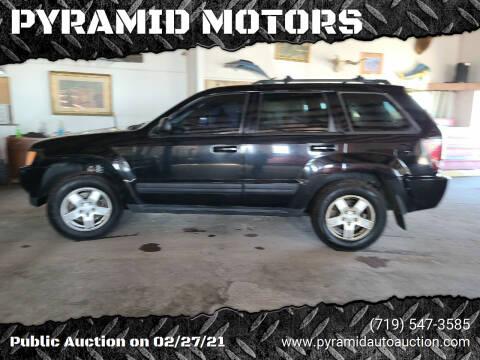 2006 Jeep Grand Cherokee for sale at PYRAMID MOTORS - Pueblo Lot in Pueblo CO