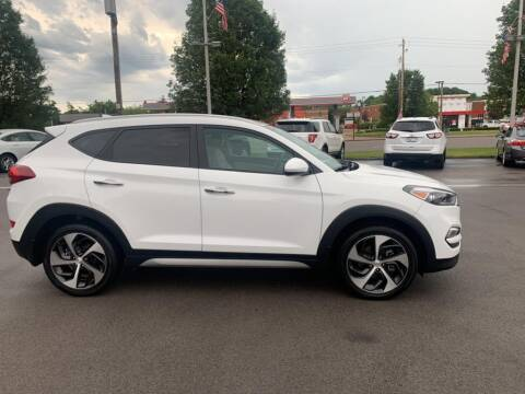 2017 Hyundai Tucson for sale at St. Louis Used Cars in Ellisville MO