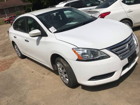 2014 Nissan Sentra for sale at EADS AUTO SALES in Arlington TN