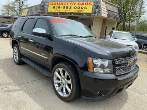 2013 Chevrolet Tahoe for sale at Courtesy Cars in Independence MO