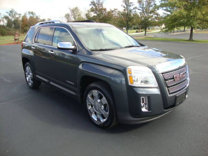 2011 GMC Terrain for sale at MIKES AUTO CENTER in Lexington OH