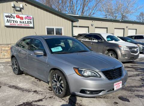 2014 Chrysler 200 for sale at QS Auto Sales in Sioux Falls SD