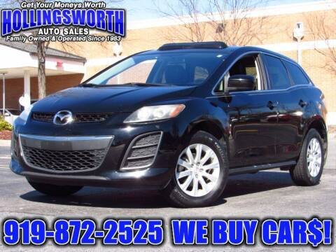 2011 Mazda CX-7 for sale at Hollingsworth Auto Sales in Raleigh NC