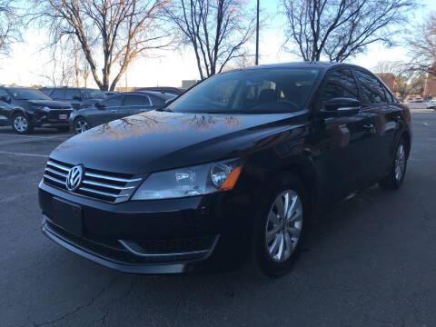 2012 Volkswagen Passat for sale at Modern Auto in Denver CO