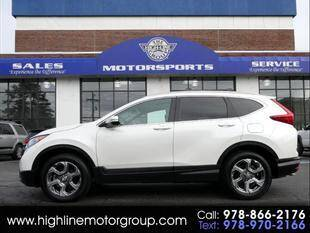 2018 Honda CR-V for sale at Highline Group Motorsports in Lowell MA