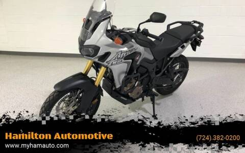 2016 Honda AFRICA TWIN for sale at Hamilton Automotive in North Huntingdon PA