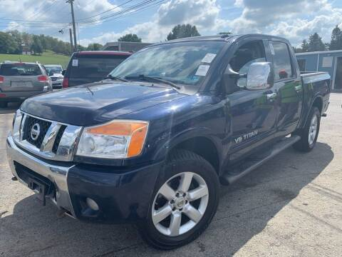 2009 Nissan Titan for sale at Trocci's Auto Sales in West Pittsburg PA